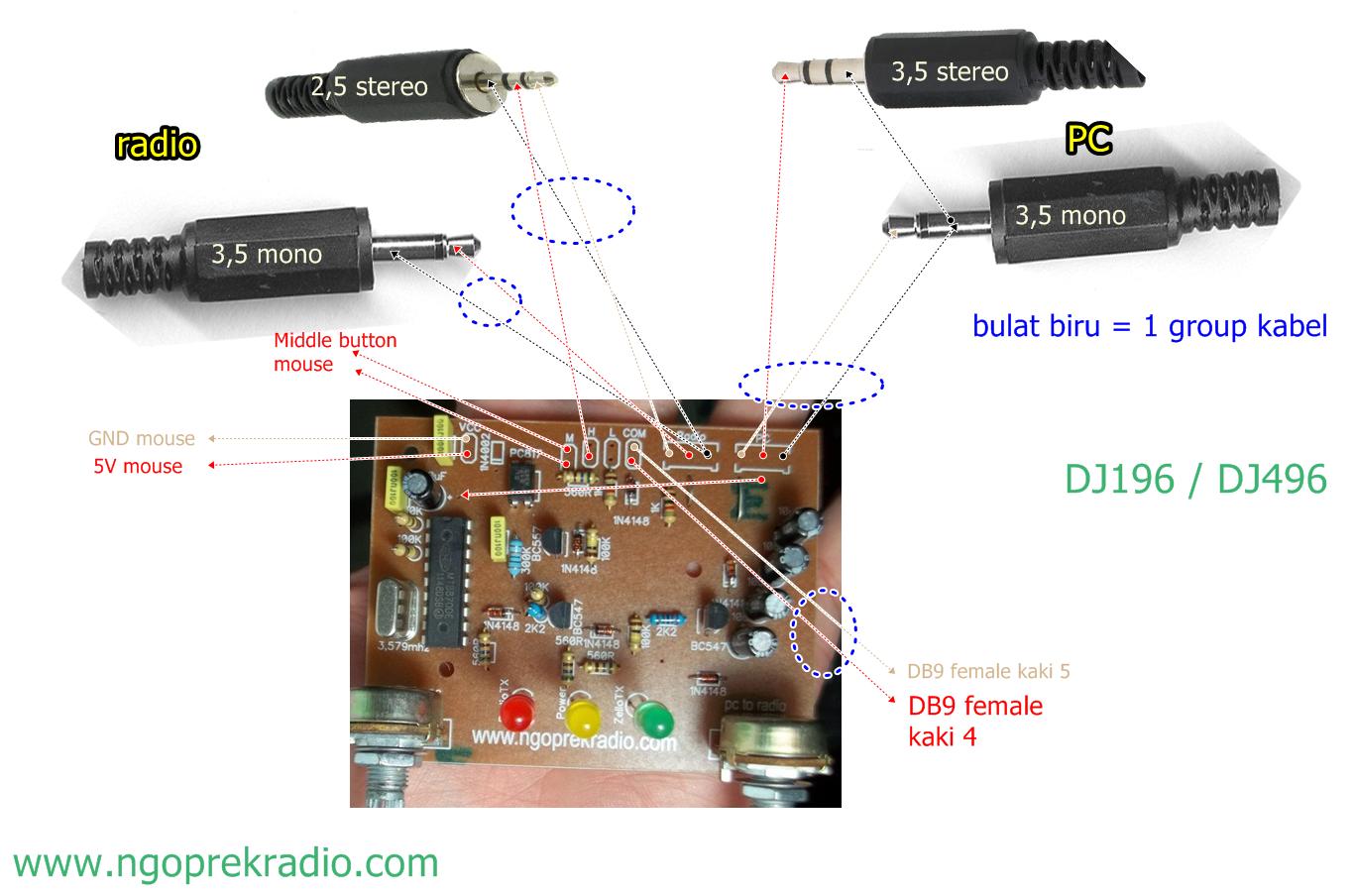 wiring DJ196